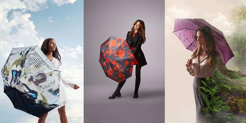 Parapluies au design moderne